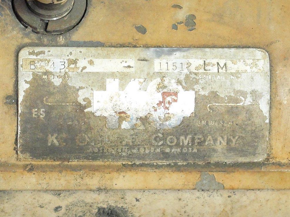 Image K.0. LEE CO. BA900 Tool Sharpener 688492