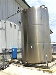 237513 - 10,000 Gallon Stainless Steel Vertical Silo