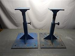 237574 - 30' Heavy Duty Steel Stands - Lot Of 2