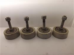 237597 - Lot Of 4 Machine Leveling Feet