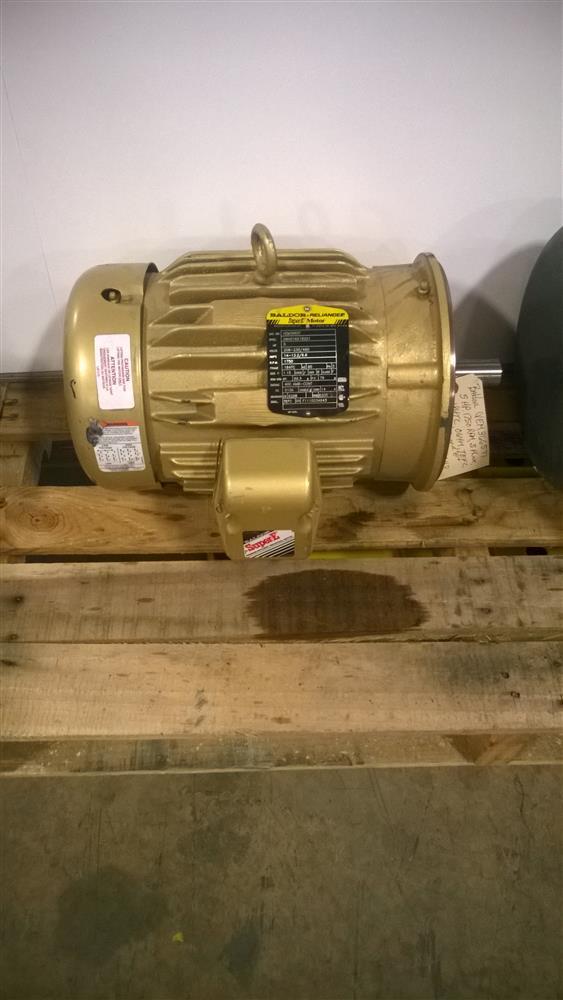 5 Hp Baldor Vem3665t Electr 239341 For Sale Used