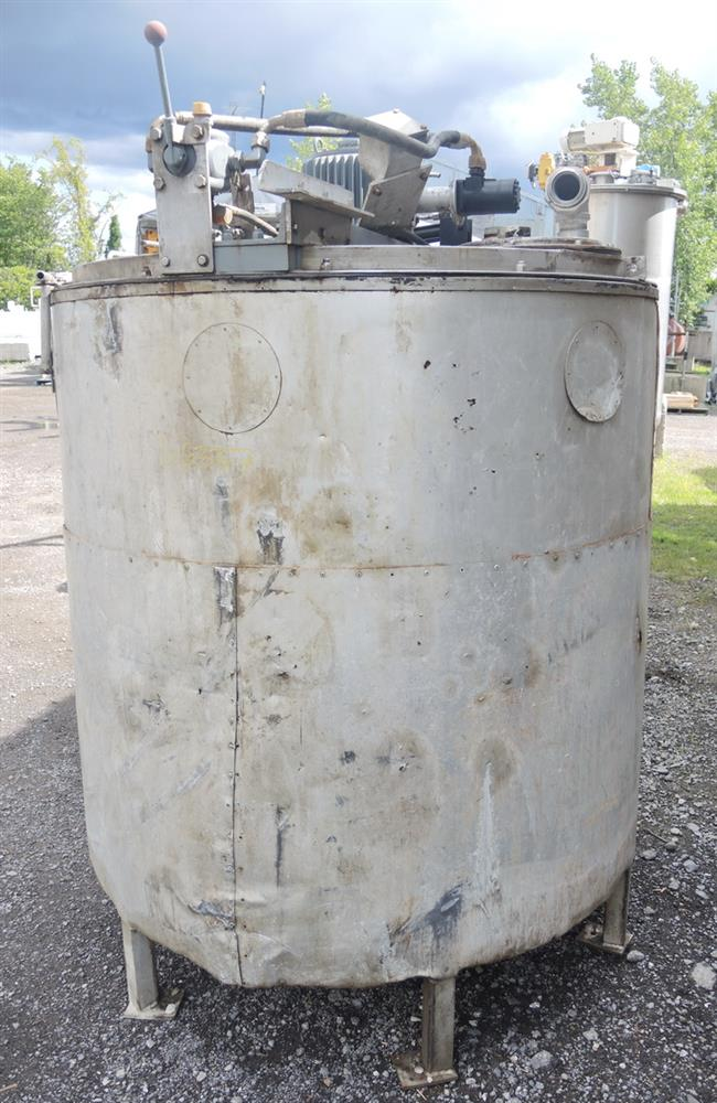 Image 1080 GALLON (2 X 540 GALLON) Hydraulically Driven Mixing System 693027