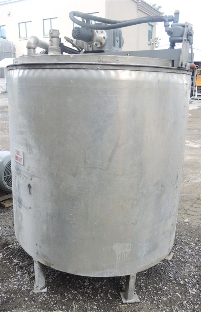 Image 1080 GALLON (2 X 540 GALLON) Hydraulically Driven Mixing System 693014