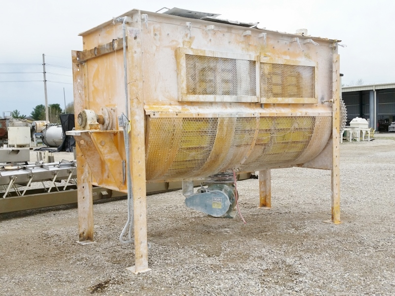 200 Cu Ft Paddle Mixer 239859 For Sale Used
