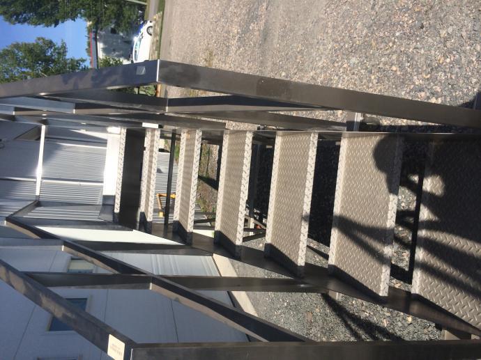 Image INOX Mobile Staircase 695129 ...