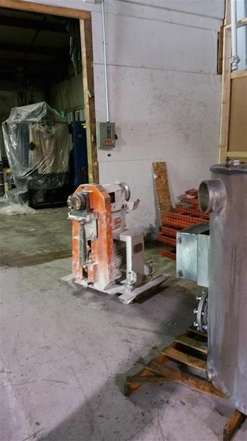GALA MUP 8 pelletizing equipment