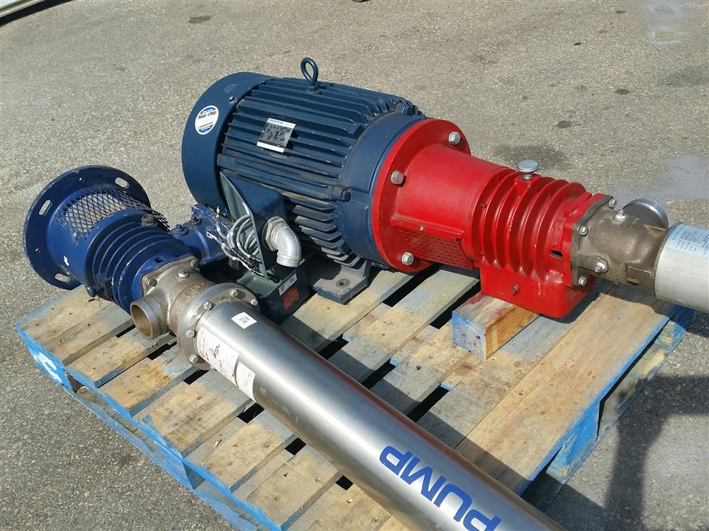 Image GE OSMONICS Tonkaflow RO System Pump Water Treatment System T&T (2) 695612