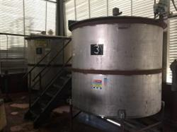 240175 - 1750 Gallon Tank Stainless Steel 2 Available
