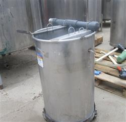 240188 - 30 GAL 304L Stainless Steel Tank