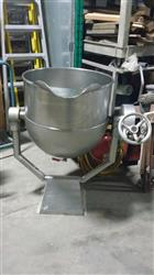 241996 - 27 Gallon GROEN Stainless Steel Jacketed Tank