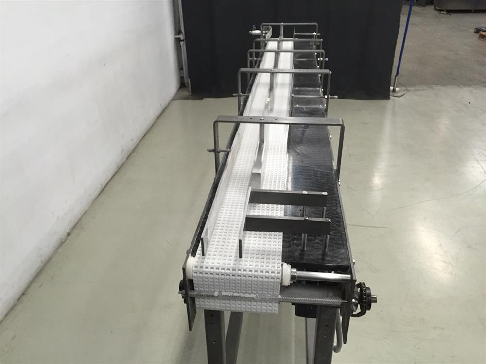 Image 114in L x 8in W HI-SPEED Chain Conveyor 702707
