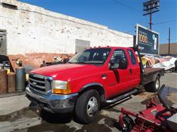 243170 - 2000 FORD F350 Flatbed with 5th Wheel