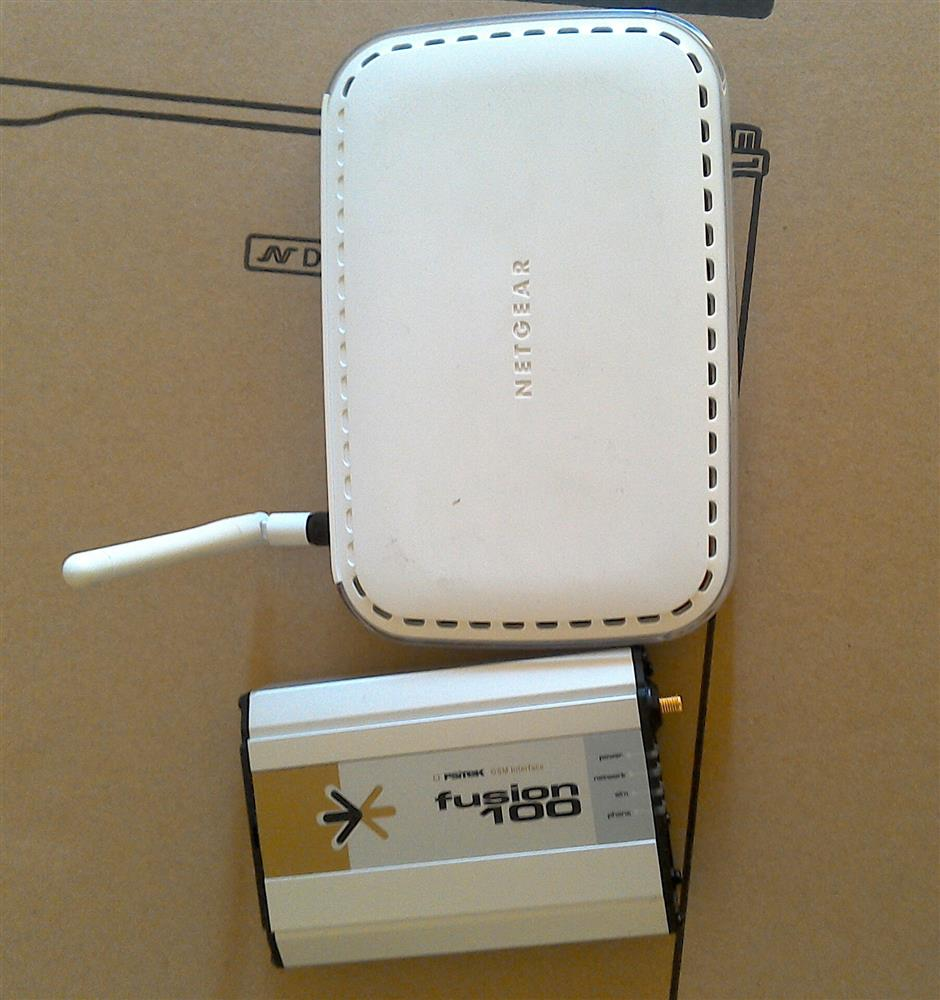 NETGEAR 108 mbps Super Wireless ADSL Modem
