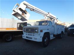 243452 - 1985 CHEVORLET Bucket Truck