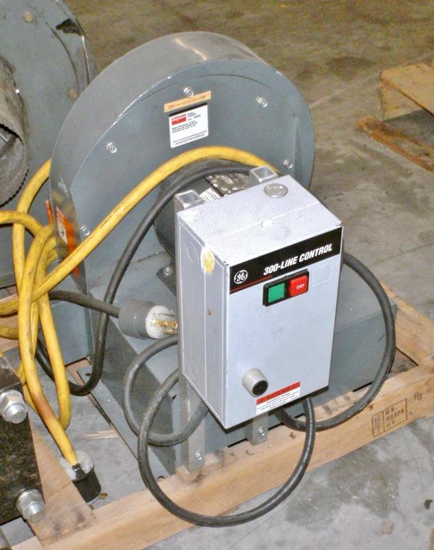 Image 3HP DAYTON 4C329 Blower 708890