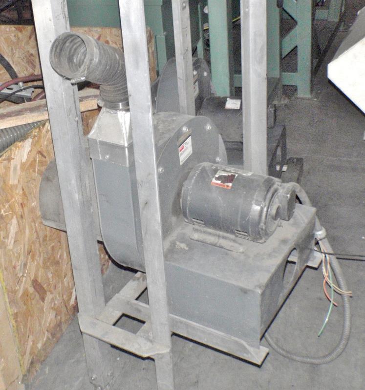 Image 3HP DAYTON 4C329 Blower 708892