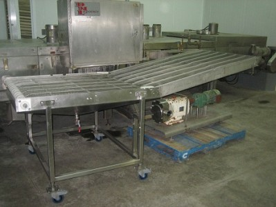 Image Wire Belt Transfer Conveyor 711775