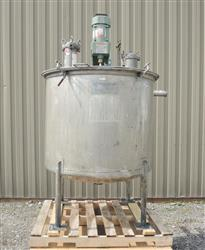 245663 - 175 Gallon Mix Tank - Stainless Steel