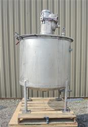 245679 - 175 Gallon Mix Tank - Stainless Steel