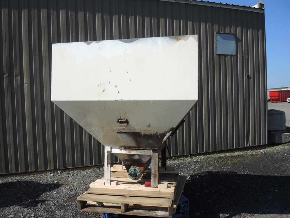 Image Hopper with Auger Feeder - 6in Diameter x 42in Long  713096