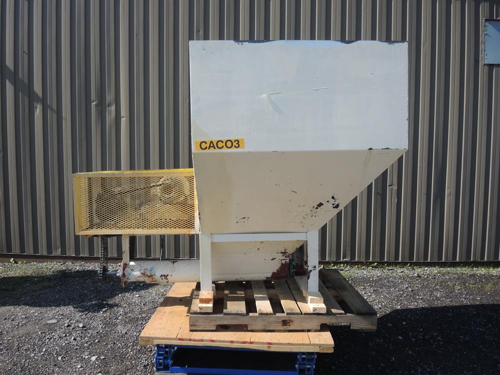Image Hopper with Auger Feeder - 6in Diameter x 42in Long  713097