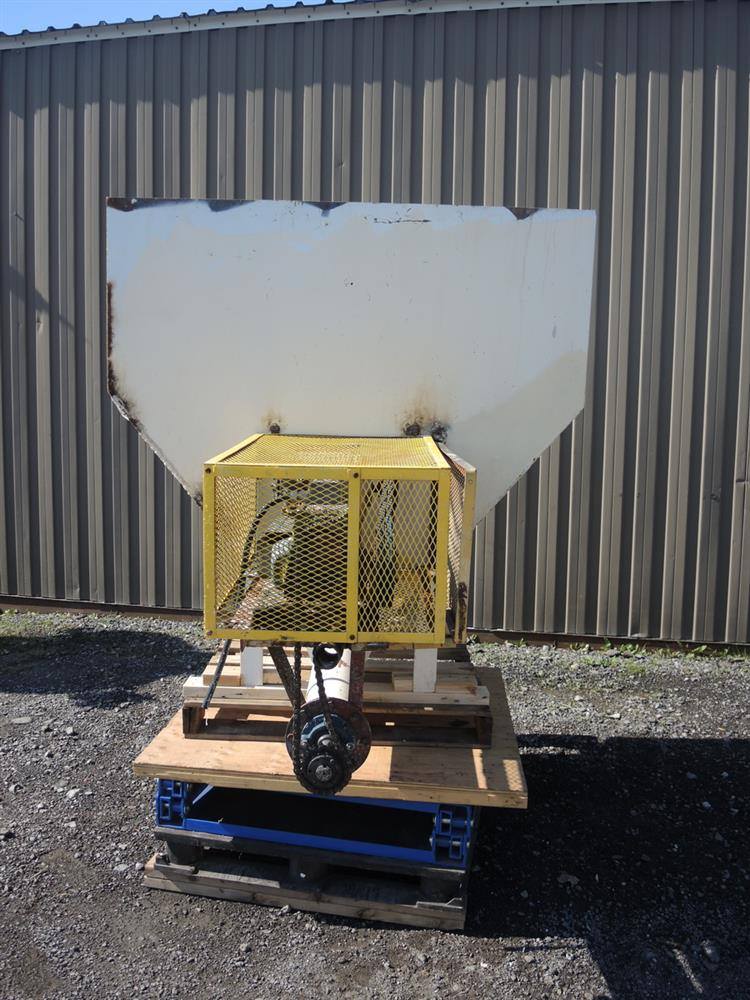 Image Hopper with Auger Feeder - 6in Diameter x 42in Long  713098