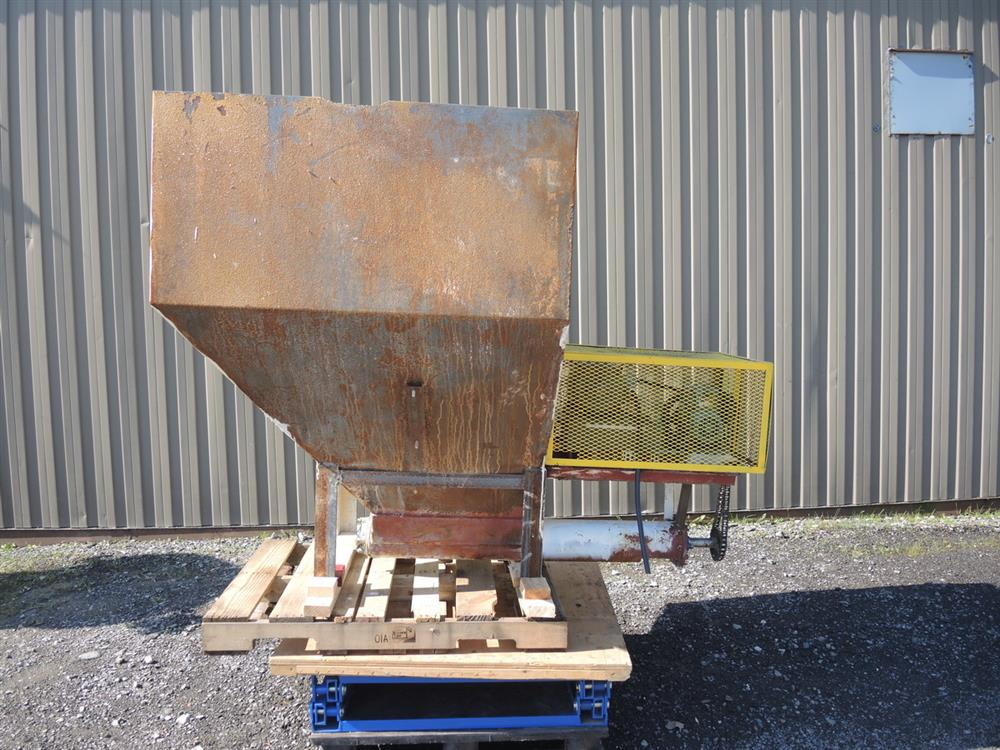 Image Hopper with Auger Feeder - 6in Diameter x 42in Long  713099