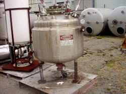 246342 - 100 Gallon METAL FABRICATORS Reactor Jacketed Tank - 304L Stainless Steel