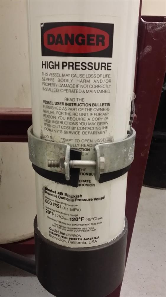 Image BETTER WATER Two Tank Reverse Osmosis System 721588