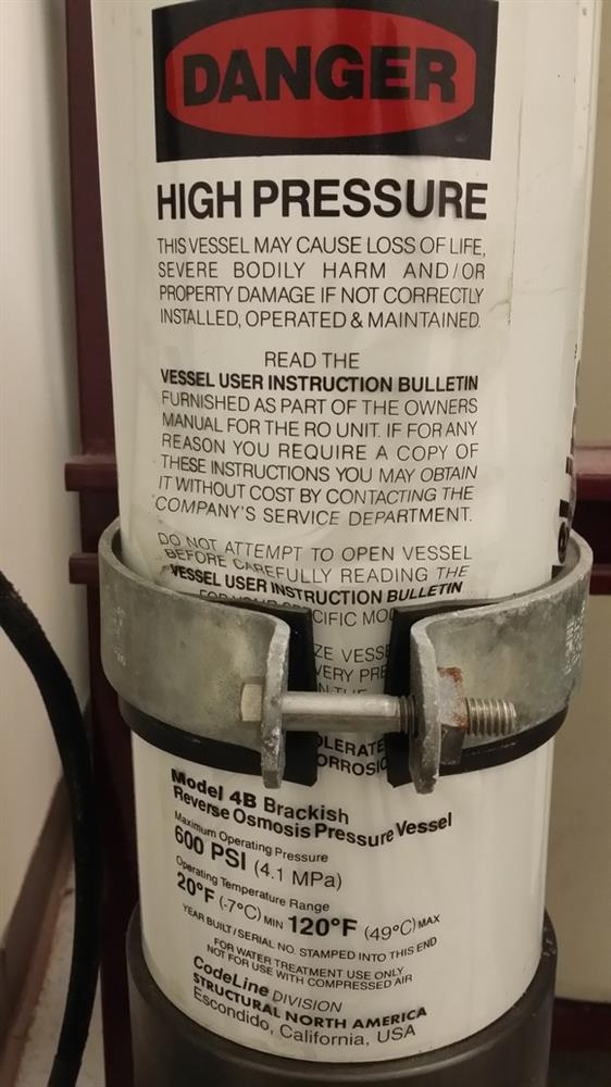 Image BETTER WATER Two Tank Reverse Osmosis System 721591