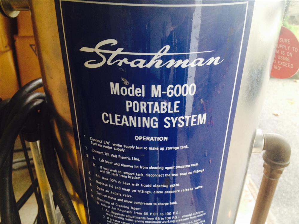 STRAHMAN Valves Portable Cleaning System