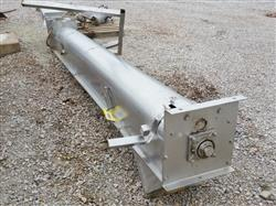 249036 - 12in OD X 12ft L Screw Conveyor - Stainless Steel