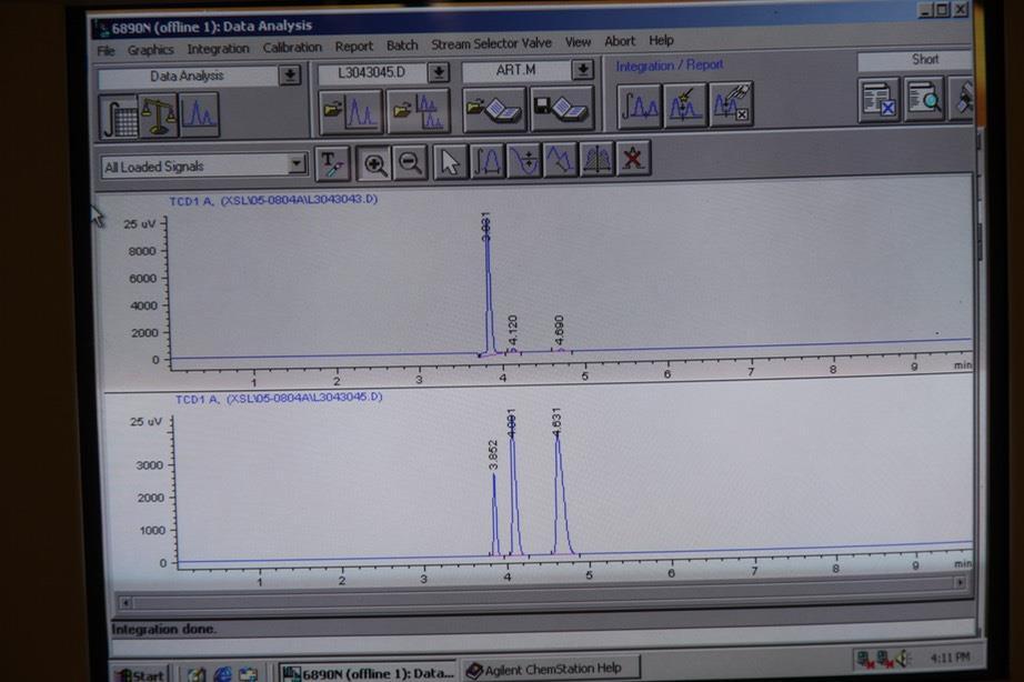 Image AGILENT 6890N Gas Chromatograph  787070