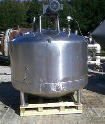 249052 - 500 Gallon MUELLER Jacketed Mixing Kettle