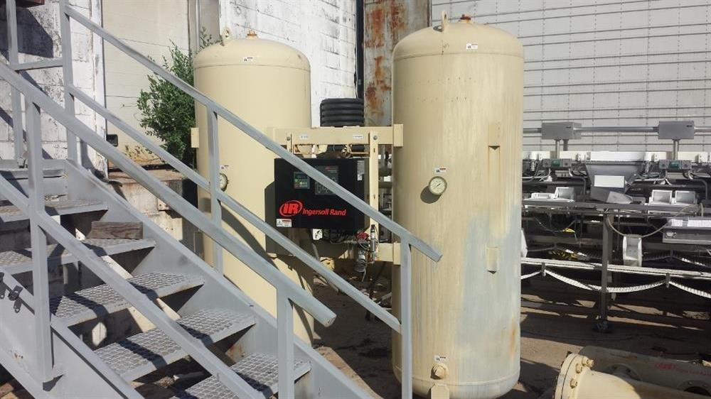 INGERSOLL RAND Dessicant Air Dryer - 1000lbs