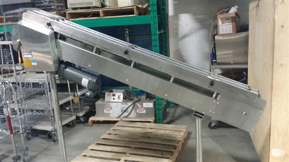 Image DL TECH DLCS-6-77 Stainless Steel Incline Conveyor 726337