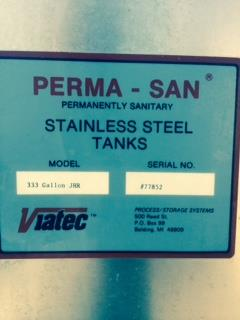 Image 333 Gallon VIATEC-PERMA SAN Blender - Jacketed 728504