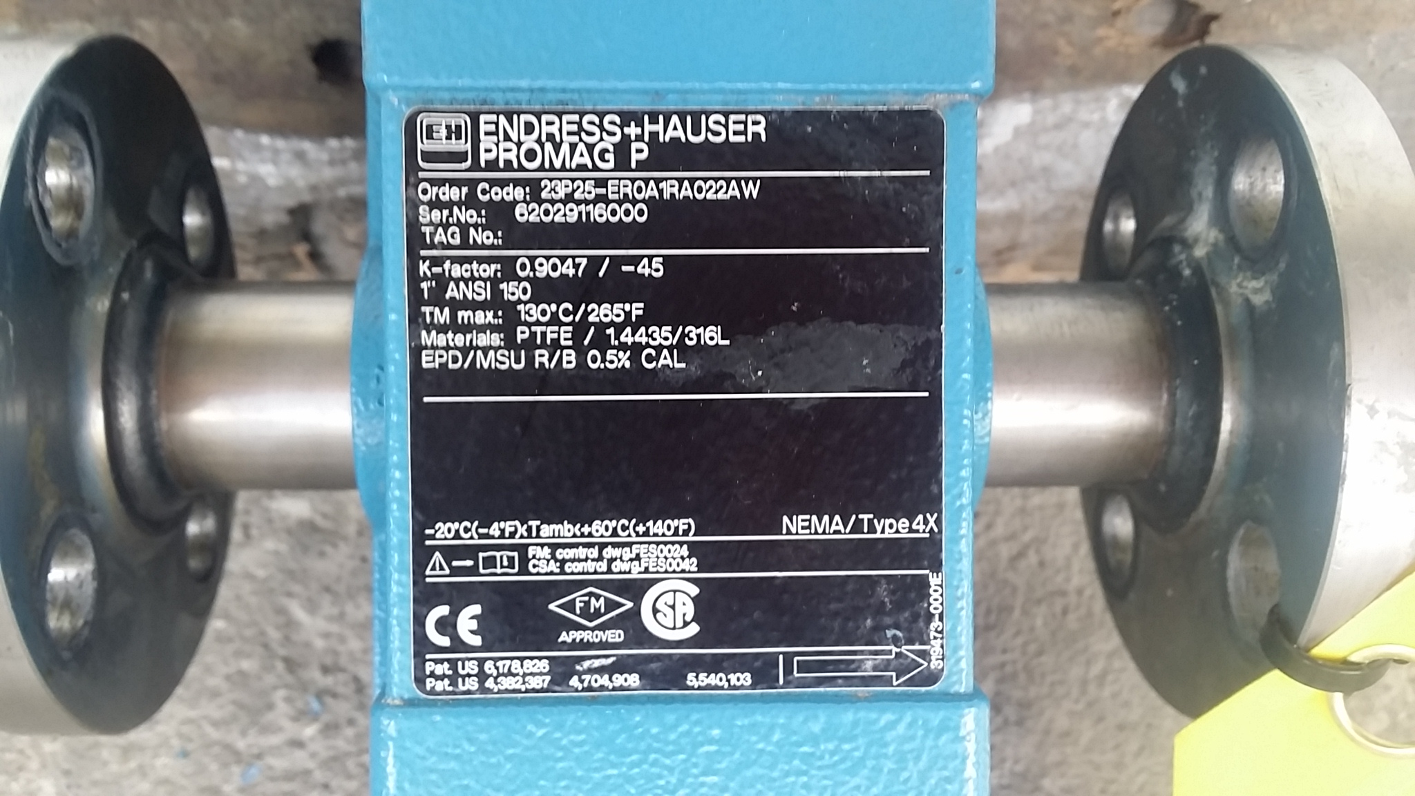 1in ENDRESS HAUSER Prom - 250484 For Sale Used N/A
