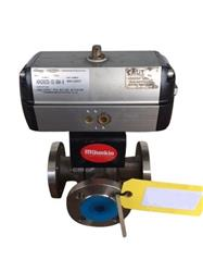 250485 - 1.5in OD KITZ 3-Way Valve With Flowserve Actuator