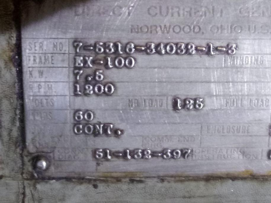 Image 1MW Steam Turbine Generator 1484142