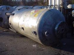 250589 - 1450 Gallon ZEYON Pressure Tank - 304 Stainless Steel