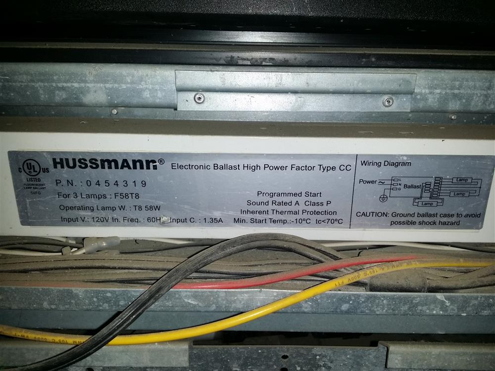 Hussmann Retail Refiger 251962 For Sale Used N A