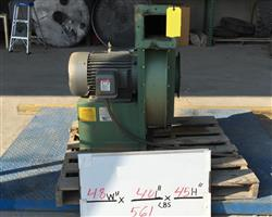253758 - 15HP AMERICAN FAN Blower - 1,900 CFM @ 26in Sp
