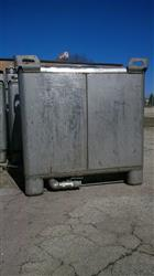 255353 - 350 Gallon IBC Stainless Steel Totes