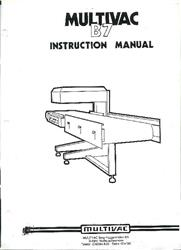 Image MULTIVAC B-7 Vacuum Packer 929560