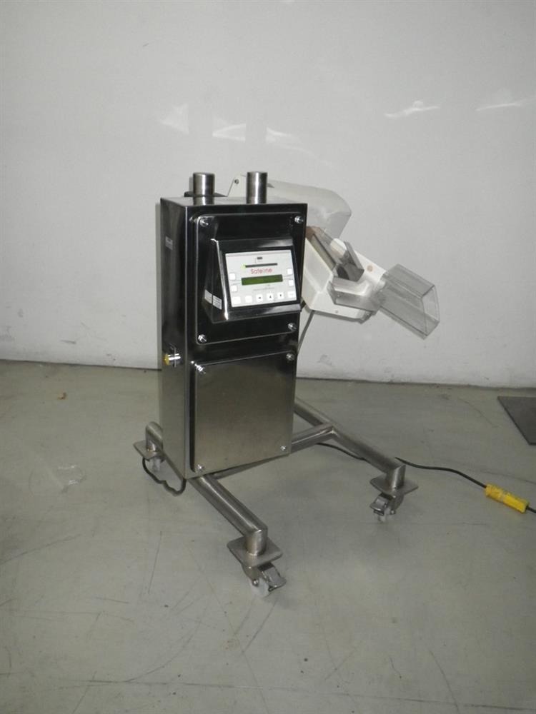 Safeline Metal Detector Wit 256749 For Sale Used