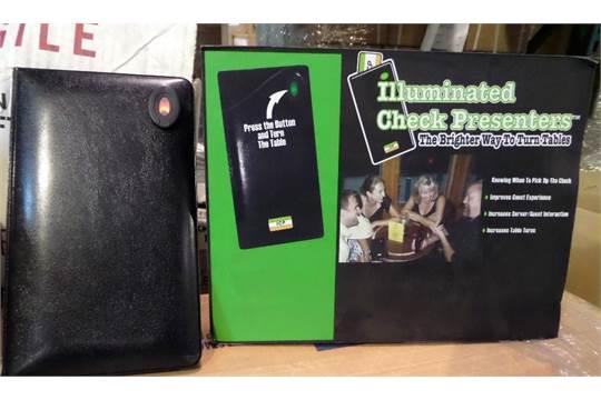 Illuminated Check Presenters System