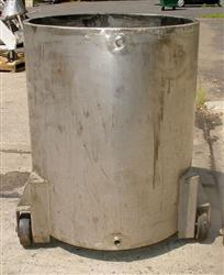 257185 - 200 Gallon Mixing Tank - Stainless Steel, Jacketed