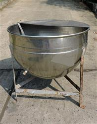 257232 - 100 Gallon LEE Kettle - Jacketed, Open Top