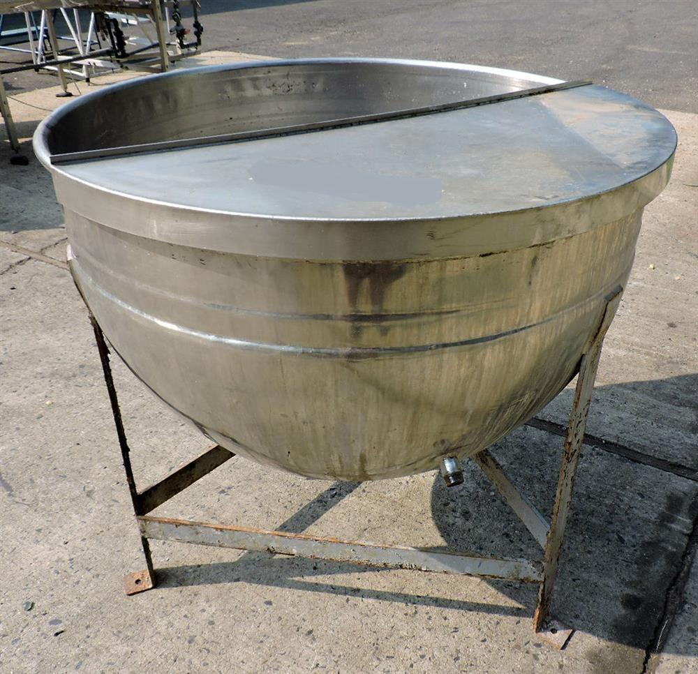 Image 100 Gallon LEE Kettle - Jacketed, Open Top 757823